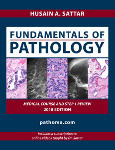 Fundamentals of Pathology 2018 Edition